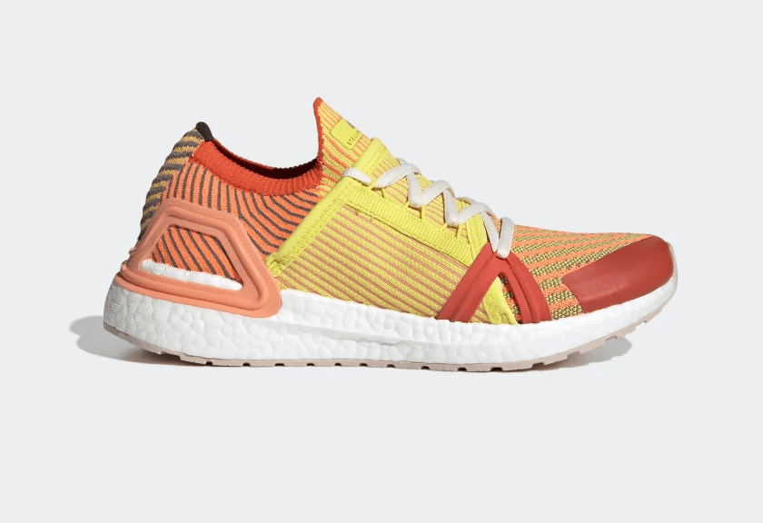 Release Date: Stella McCartney x adidas Women's UltraBOOST 20 'Active Orange/Fresh Lemon'