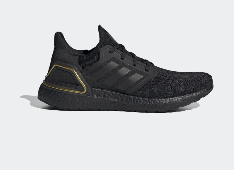 adidas UltraBOOST 20 Core Black/Gold Metallic