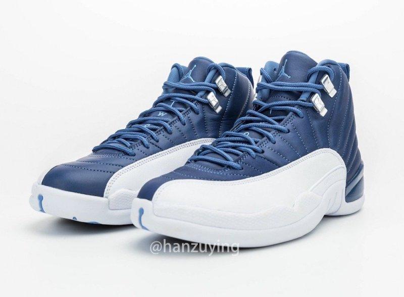 Air Jordan 12 Stone Blue