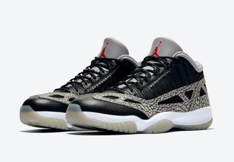 Air Jordan 11 Low IE Black/Cement