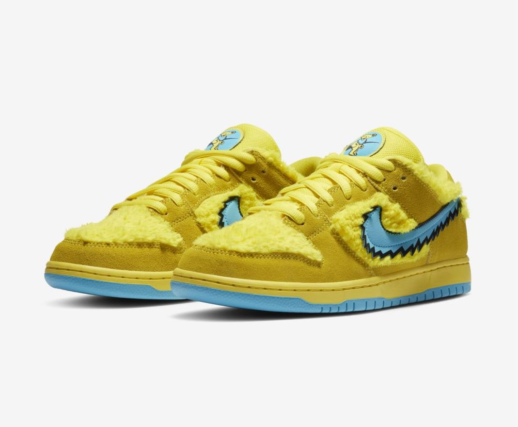 Release Date: Grateful Dead x Nike SB Dunk Low 'Opti Yellow'