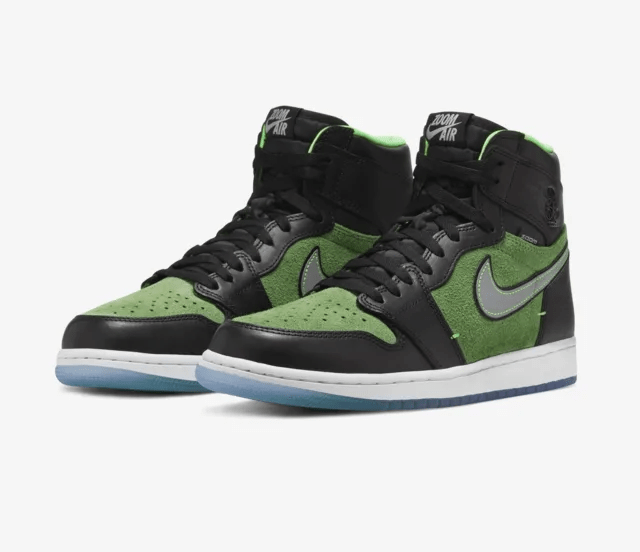 Release Date: Air Jordan 1 High Zoom 'Zen Green'