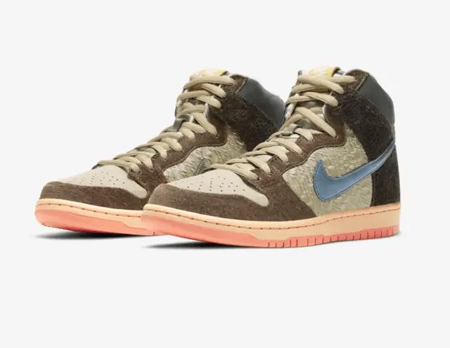 Concepts x Nike SB Dunk High Mallard