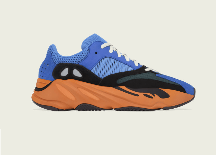 adidas Yeezy BOOST 700 'Bright Blue'April 24, 2021