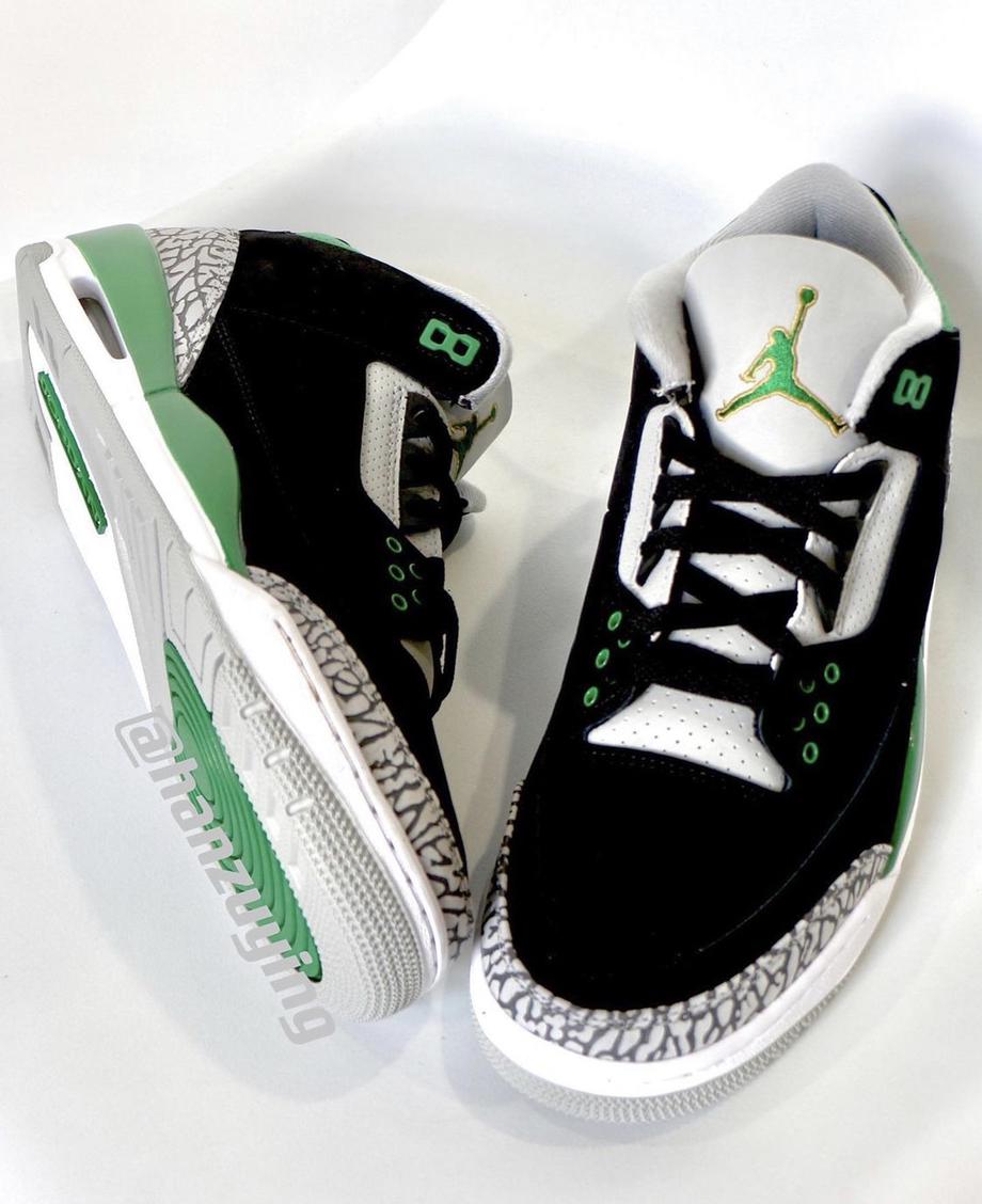 Release Date: Air Jordan 3 'Pine Green'