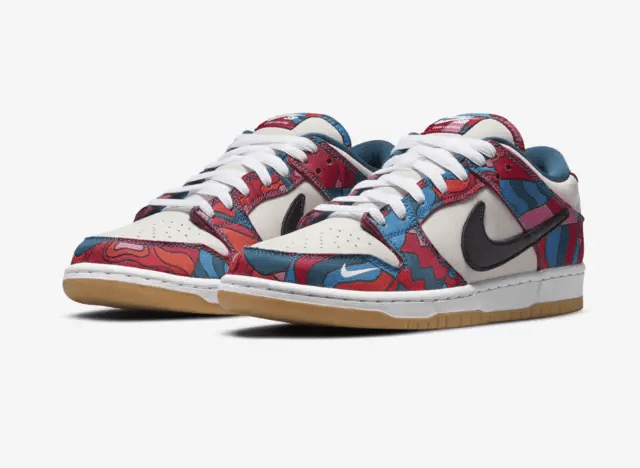 Parra x Nike SB Dunk Low 'Abstract Art'July 31, 2021