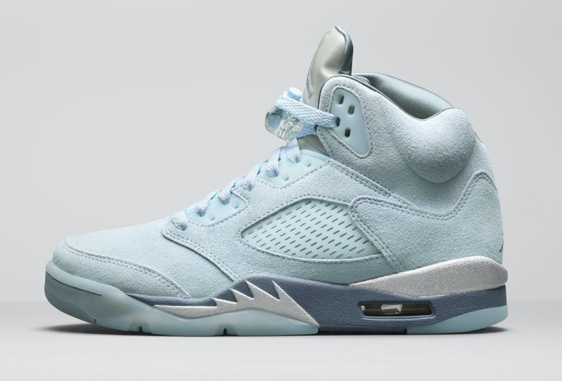 Release Date: Women's Air Jordan 5 'Blue Bird'