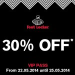 FOOT LOCKER VIP PASS 30%