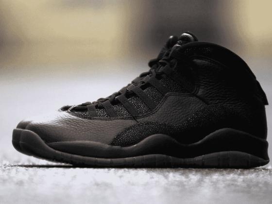 Nike Air Jordan 10 Retro OVO Black by Drake