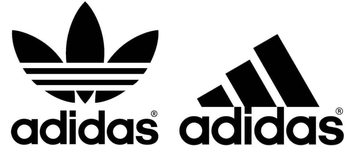 Les logos d'adidas