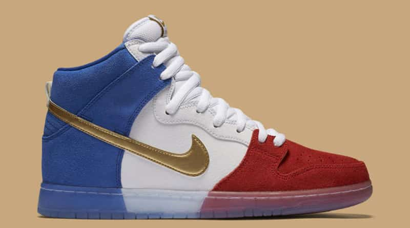 Nike SB Dunk High Tricolor