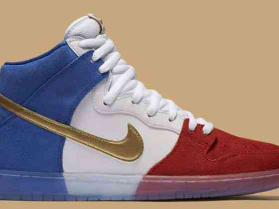 Nike SB Dunk High Tricolor