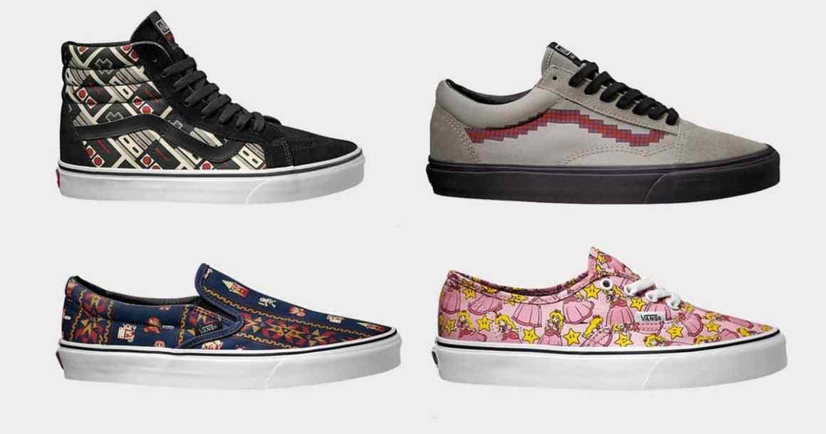 Sneakers Vans x Nintendo