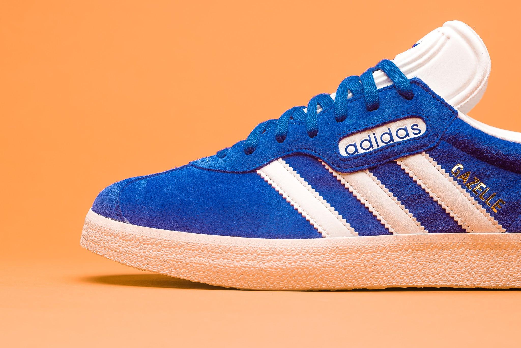 adidas gazelle bleu vintage