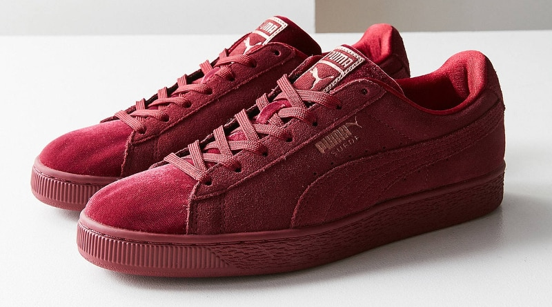uk availability b2f4f 985b2 PUMA Suede Classic Velvet - Sneaker Style