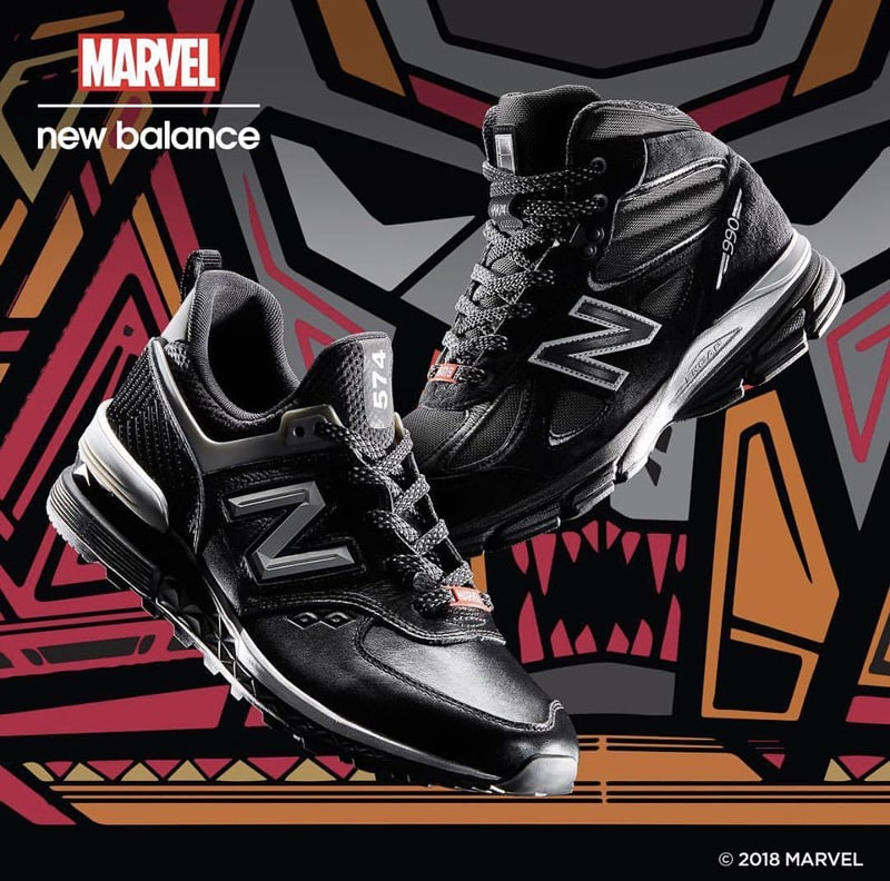 MARVEL Black Panther x New Balance