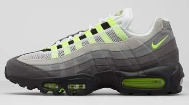 La Nike Air Max 95 dans son coloris OG Neon