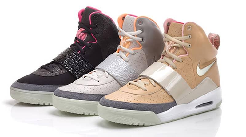 Les 3 coloris originaux de la Nike Air Yeezy 1
