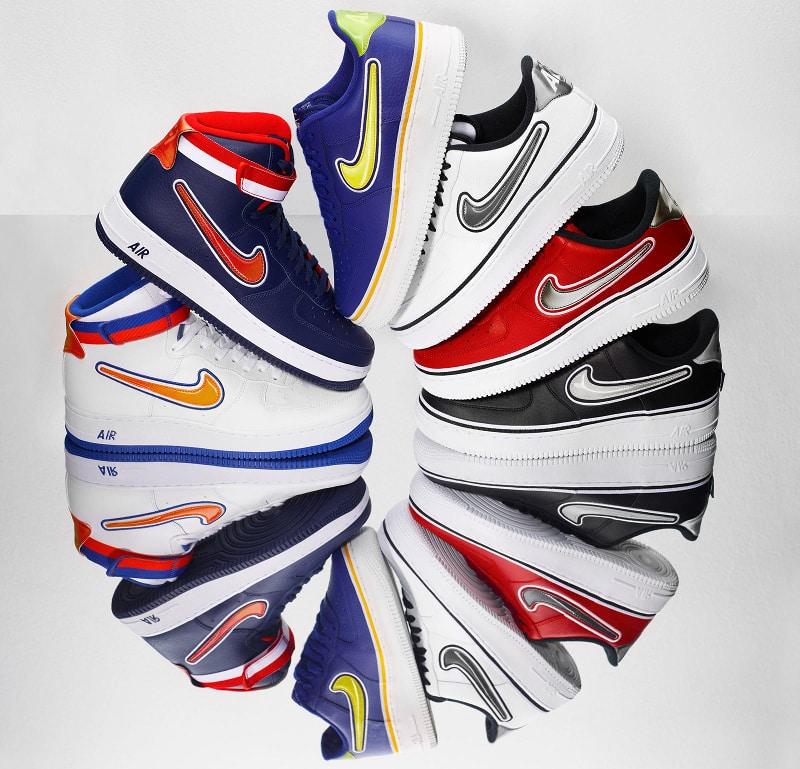Nike Air Force 1 NBA Pack 2018
