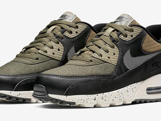 Nike Air Max 90 ''noir et olive''