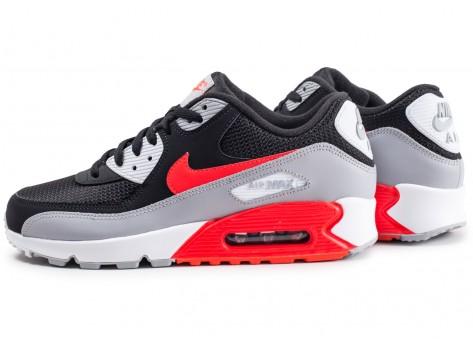 Nike Air Max 90 Essential noire et rouge