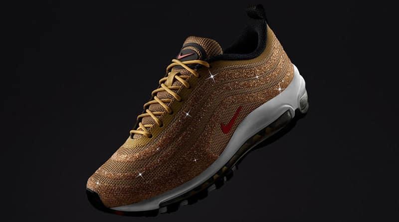 Nike Air Max 97 Swarovski ''Metallic Gold''