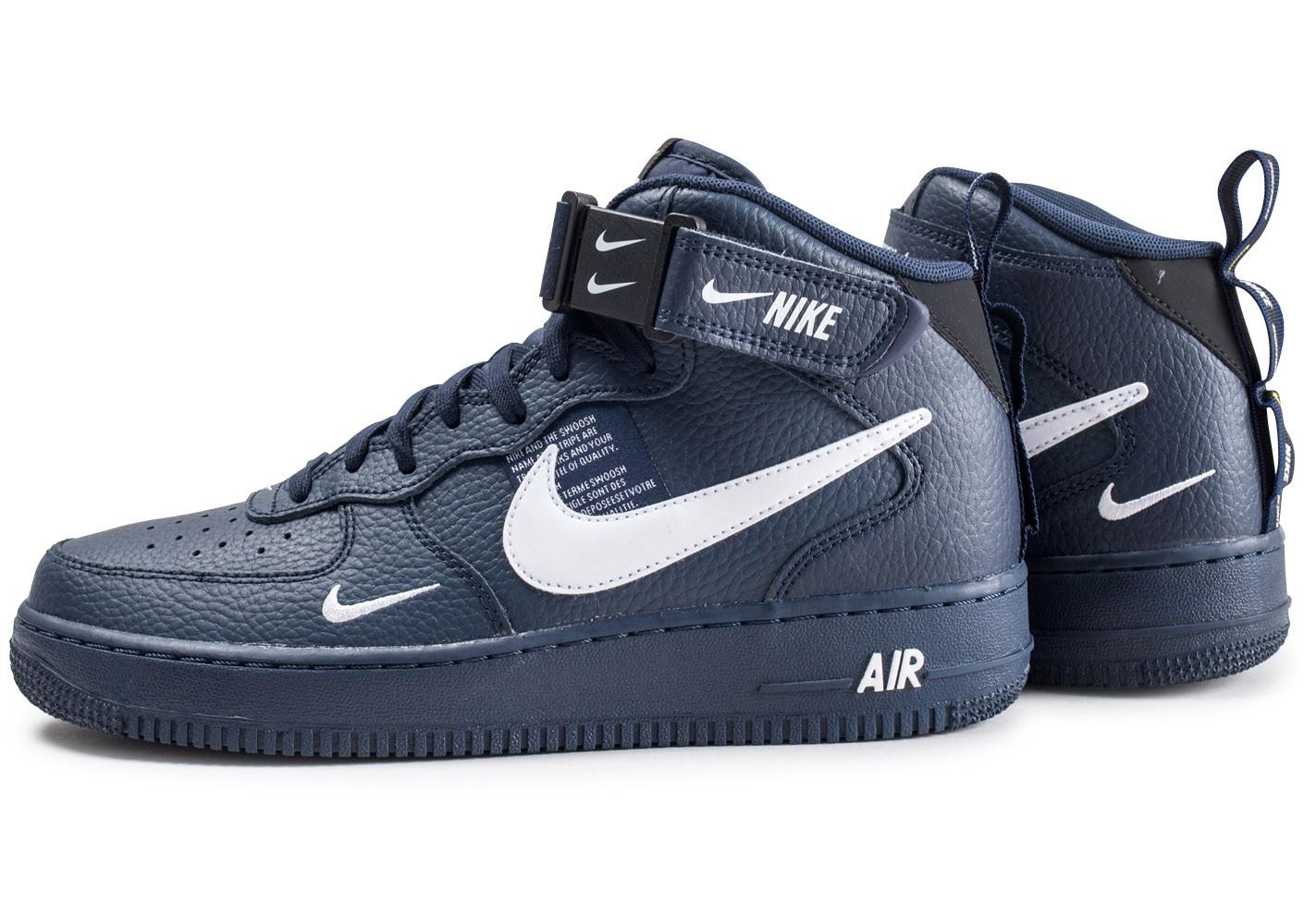 Force Mid Sneaker 1 Lv8 Air ''obsidian'' Utility Nike Style '07 TcJFKl13