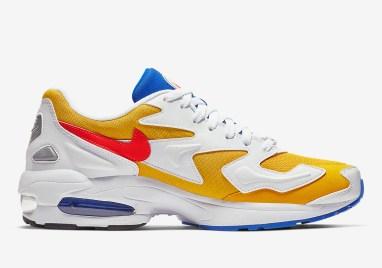 Nike Air Max2 Light ''University Gold/Flash Crimson''
