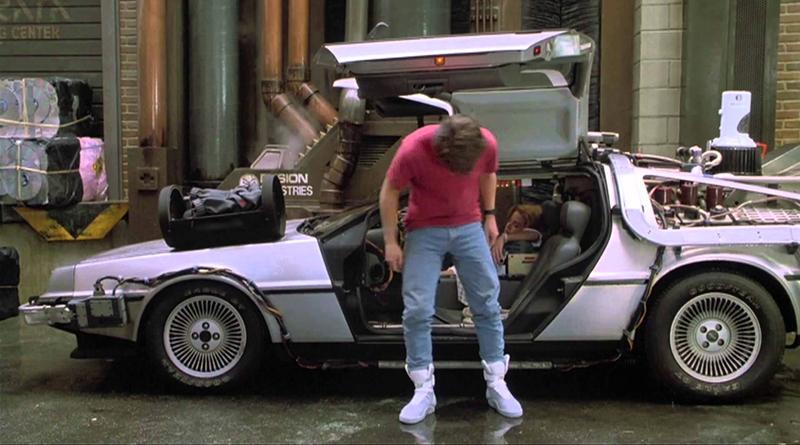 Marty McFly - Retour vers le futur - Nike Air Mag