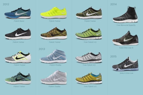 Les baskets issues du projet Nike HTM - 2012-2014