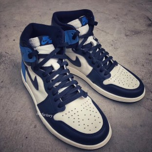 Air Jordan 1 Retro High OG ''Obsidian''