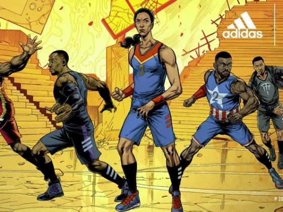 MARVEL x adidas ''Heroes Among Us''