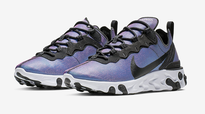 Nike React Element 55 PRM ''Black/Laser Fuchsia''