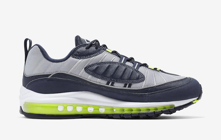 Nike Air Max 98 ''Obsidian/Volt''