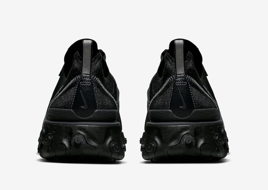 Nike React Element 55 ''Black/Anthracite''
