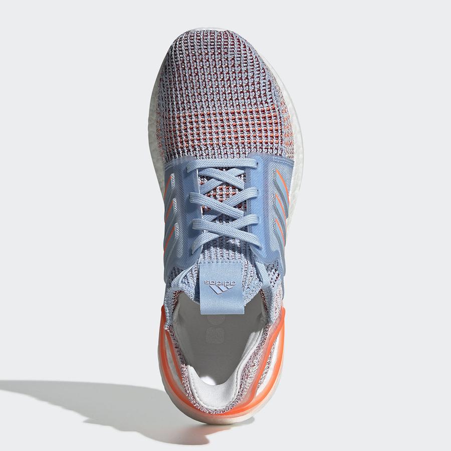 adidas Ultraboost 2019 WMNS ''Glow Blue/Hi-Res Coral-Active Maroon''