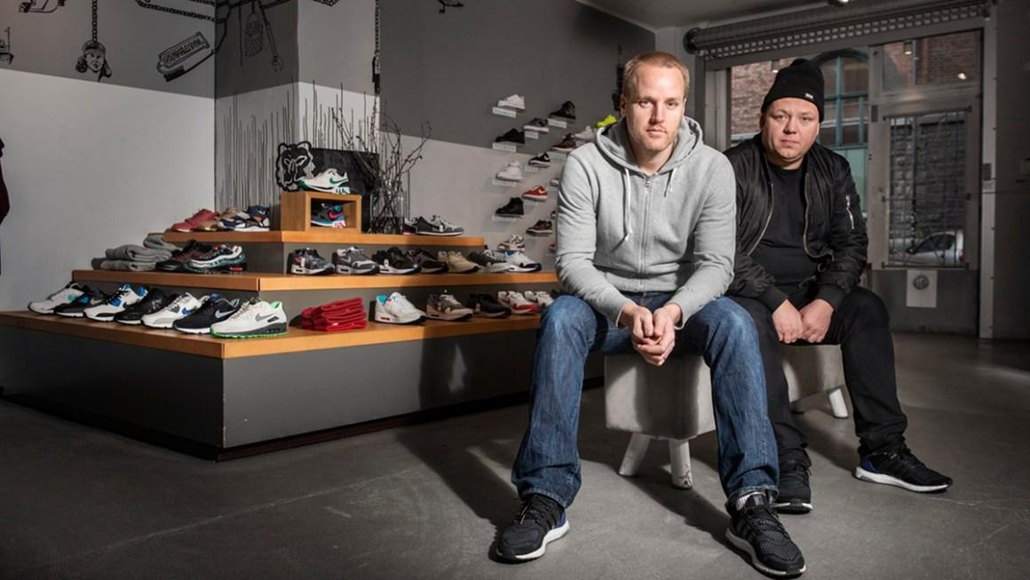 Erik Fagerlind et Peter Janson