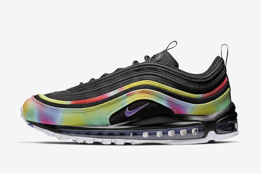 Nike Air Max 97 ''Tie-Dye'' - Black