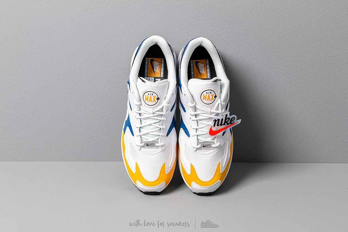Nike Air Max2 Light ''University Gold/Game Royal''