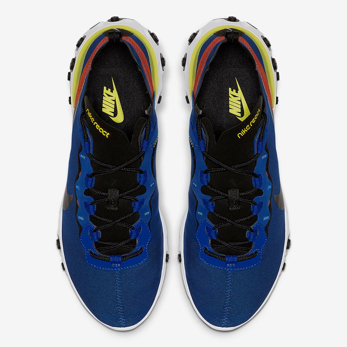 Nike React Element 55 ''Game Royal''