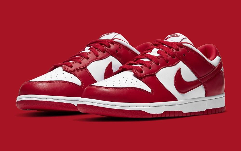 Nike Dunk Low SP ''University Red'' - CU1727-100 - Sneaker Style