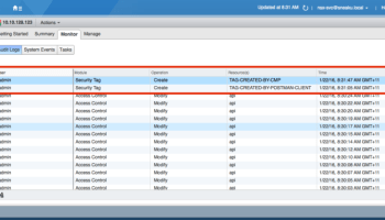 vSphere Web Client, NSX and a dreaded black screen   SneakU