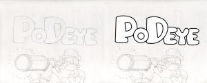 Podeye-Lettering_Sample