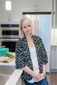 from Nic & Nat, the Sneaky Mommies Food Blog, in the kitchen