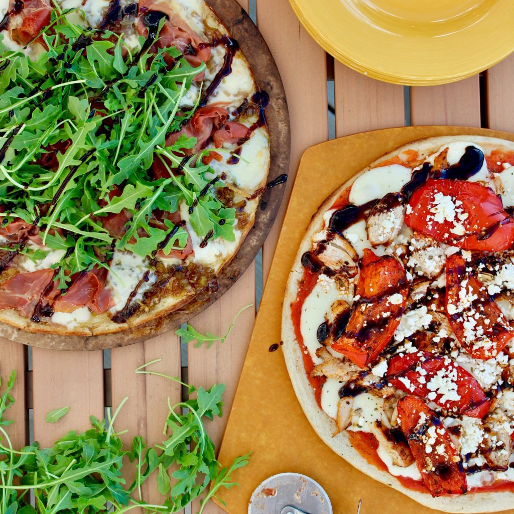 Caramelized Leek and Prosciutto Pizza