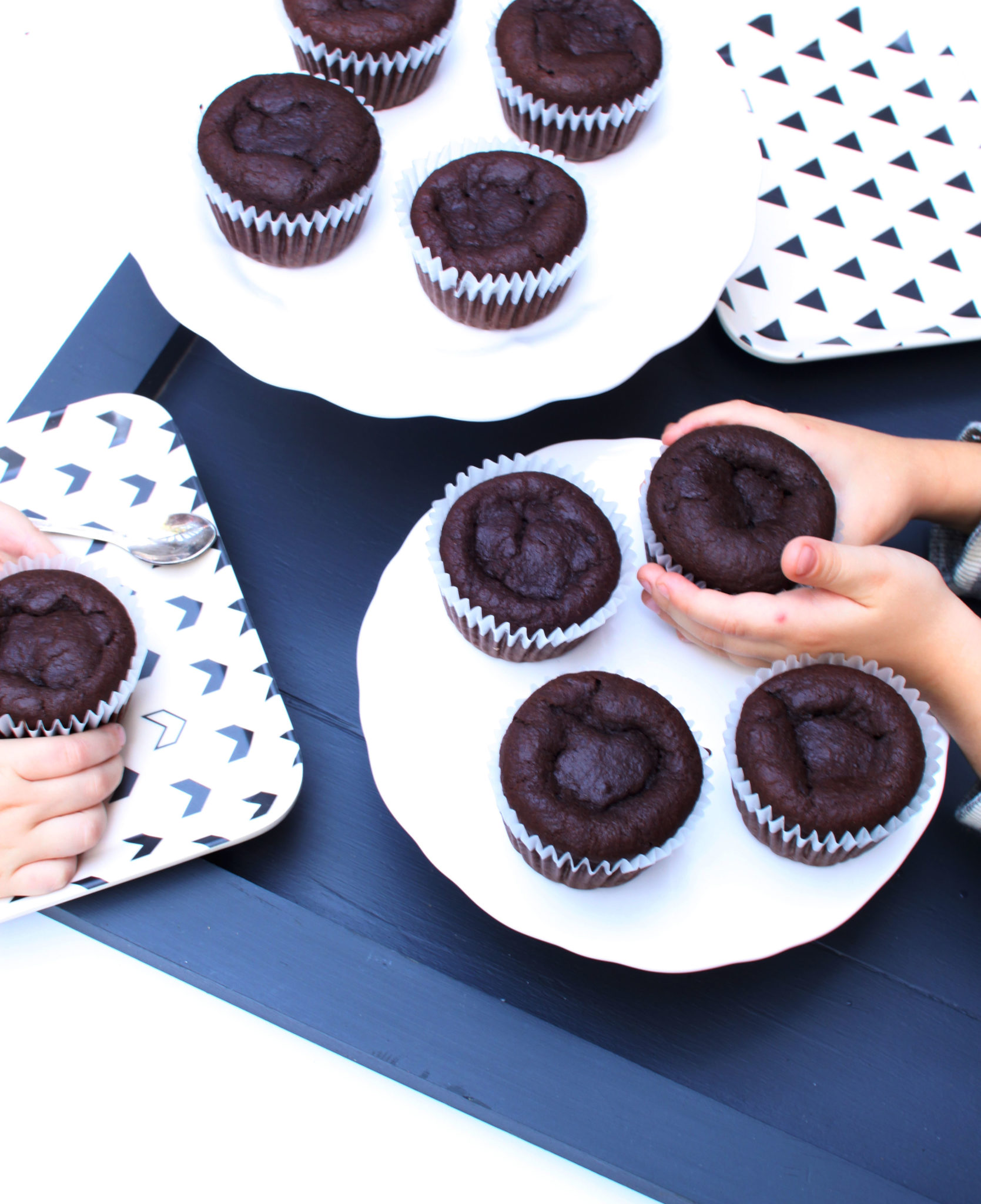 Sneaky Chocolate Cupcakes with Chocolate Avocado Icing