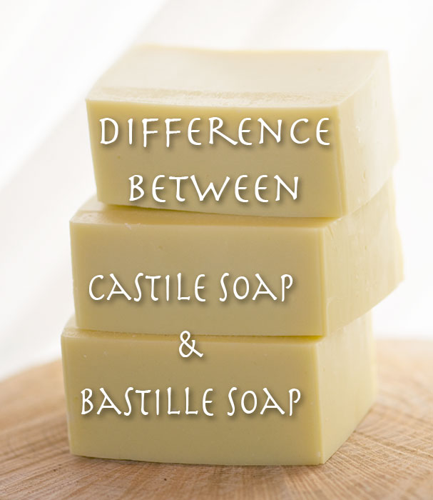 Difference between Castile and Bastile Soap