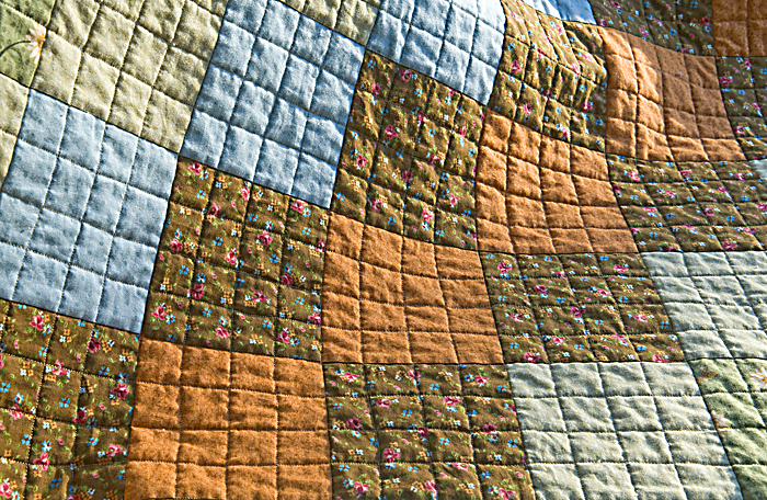 Finished quilting
