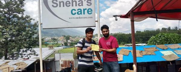 Thank You Biswas Lama For Sponsoring 4 Dogs of Our Shelter :)