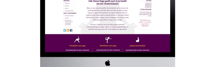 lifeforceyoga.nl - Voor betere gezondheid, een vitaler lichaam en rustiger denken